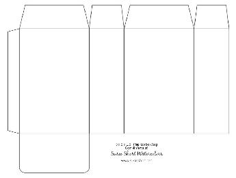 Printable gift box templates FREE to download, print and make!